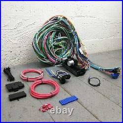 1934 1953 Oldsmobile Wire Harness Upgrade Kit fits painless circuit new fuse