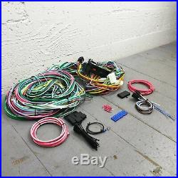 1955 1957 Chevrolet Wire Harness Upgrade Kit fits painless compact terminal