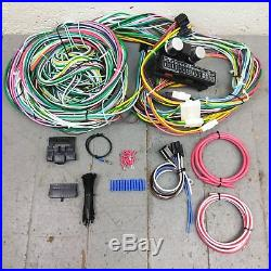 1955 1957 Chevy Bel Air Wire Harness Upgrade Kit fits painless fuse block new
