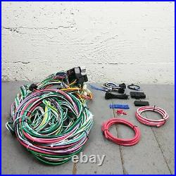 1959 1974 Ford Galaxie Wire Harness Upgrade Kit fits painless fuse block fuse