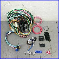 1959 62 Ford Fairlane and Fairlane 500 Wire Harness Upgrade Kit fits painless