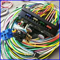 1962 1967 Chevy Wire Harness Upgrade Kit fits painless new update compact fuse