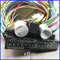 1965 1970 Chevrolet Truck Wire Harness Upgrade Kit fits painless compact fuse