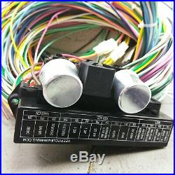 1966 1974 Nova Wire Harness Upgrade Kit fits painless fuse block new update
