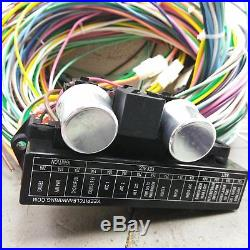 1967 1968 Mustang Wire Harness Upgrade Kit fits painless update terminal fuse