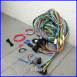 1968 1976 Ford Torino Gran Torino Wire Harness Upgrade Kit fits painless fuse