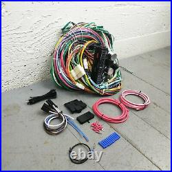 1971 2012 Jeep Wire Harness Upgrade Kit fits painless circuit compact new KIC