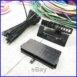 1974 1978 Ford II Mustang Wire Harness Upgrade Kit fits painless compact fuse