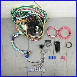 1974 Up Jeep CJ Series Wire Harness Upgrade Kit fits painless circuit complete