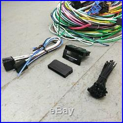 1982 1988 e28 BMW Wire Harness Upgrade Kit fits painless circuit fuse terminal