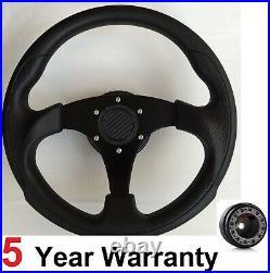 300mm Steering Wheel And Boss Kit Hub Fit All Subaru Impreza Wrx And Sti 01-07