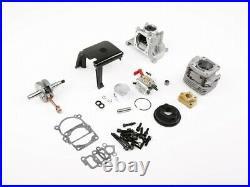 4 bolt 32cc upgrade 36cc engine kit with walbro 1107 carburetor fit 1/5 rc