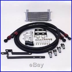 AUDI A3 S3 TT VW GTI 2.0T MK5 MK6 14 ROW BOLT ON OIL COOLER KIT UPGRADE fittings