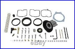 CV Carburetor Upgrade Rebuild Kit, fits Harley Davidson motorcycle models