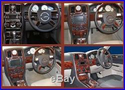 Chrysler 300 Hemi Fit 08 -10 Interior 73 Pcs Upgrade 17 Pcs Wood Dash Trim Kit
