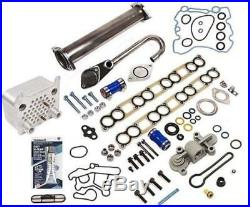 EGR Delete Kit Oil Cooler Gaskets Blue Spring Upgrade 03-10 Ford 6.0 Powerstroke