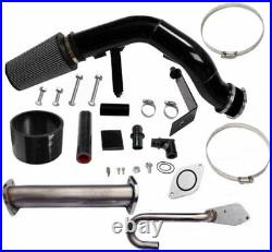 EGR Plate And Upgrade kit + Intake Filter for Ford 03-07 6.0 Powerstroke Diesel