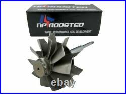 FITS Holset H1E H1C HX35 HX40 67x76mm 10 Blade Turbine Turbo Wheel Shaft Upgrade