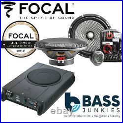 FOCAL Underseat Sub+6.5 Component Kit Speaker Upgrade Fits VW Transporter T5.1