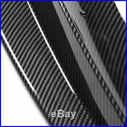 Fit For 2019-2021 BMW 3 Series G20 M Sport Carbon Fiber Front Bumper Lip Spoiler