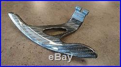 Fit G35 07-08 G37 09-14 Extended Length Upgrade Carbon Fiber Paddle Shifter Kit