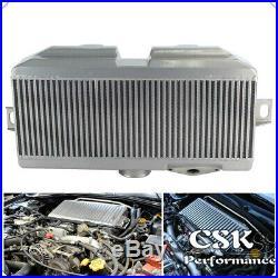 Fit Subaru 02-07 WRX STI EJ20 EJ25 Upgrade Top Mount Intercooler + Y Pipe Kit RD