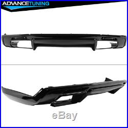 Fits 16-18 Chevy Camaro 1LE Style Front Bumper Cover OE Style Rear Diffuser PP