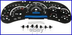Fits 2003-2007 Chevrolet & Gmc Instrument Cluster Lens Upgrade Kit