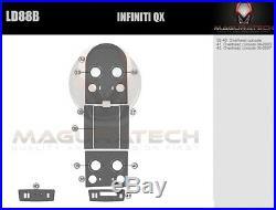 Fits Infiniti QX56 2004-2007 Overhead Upgrade Premium Wood Dash Trim Kit Overlay
