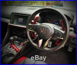 Fits Nissan GTR R35 (09-16) Extend Length Upgrade Fiberglass Paddle Shifter Kit