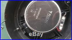 Focal IS165VW IC165VW Custom Fit VW Golf MK6 6.5 Component Speaker Upgrade Kit