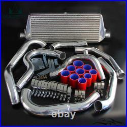 Front Mount Turbo Tuning Intercooler Kit Fits Subaru WRX Impreza GDA GDB 00-05