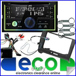 JVC CD MP3 USB Aux Full BOSE System Car Stereo Upgrade Kit fit AUDI TT-06-14 MK2