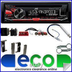 JVC CD MP3 USB Aux Full BOSE System Car Stereo Upgrade Kit fit AUDI TT 98-06 MK1