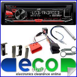 JVC CD MP3 USB Aux Rear BOSE Car Radio Stereo Upgrade Kit fit AUDI TT 98-06 MK1