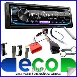JVC CD MP3 USB Bluetooth Full BOSE Car Stereo Upgrade Kit fit AUDI TT 98-06 MK1