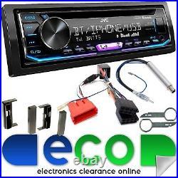 JVC CD MP3 USB Bluetooth Rear BOSE Car Stereo Upgrade Kit fit AUDI TT 98-06 MK1