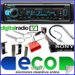 Kenwood DAB+ CD MP3 USB Bluetooth Full BOSE Stereo Upgrade Kit fit AUDI TT MK1