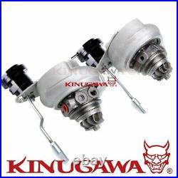 Kinugawa Turbo CHRA Upgrade Kit MHI 6G72T 3000GT TD04-15T Fit Stock Turbine Hsg