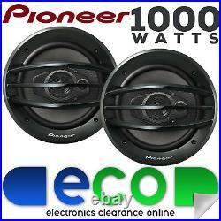 Pioneer 1000 Watts 3 Way Front Door Speakers Upgrade Kit fit AUDI A4 B8/B9-09
