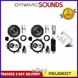 Pioneer 6.5 16.5cm Custom Fit Speaker Upgrade Kit for Peugeot 208 2012-2019