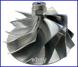 Powerstroke Diesel 7+7 Billet Turbo Compressor Wheel GTP38 for 94-03 7.3L 7.3 V8