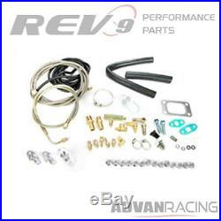 Rev9 T3 Turbo Upgrade Set Up Kit Fits PT Cruiser 2.4 Turbocharged Bolt On Up