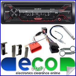 Sony CD MP3 USB Aux Rear BOSE Car Radio Stereo Upgrade Kit fit AUDI TT 98 06 MK1