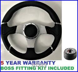 Sport Steering Wheel & Boss Kit Hub Fit Land Rover Defender 90/110 Td5 Tdi 48 Sp