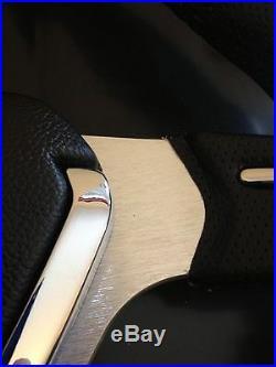 Sports Racing Steering Wheel & Boss Kit Hub Fit Vw T4 Transporter 96 On 3 Spoke