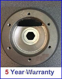 Suede Steering Wheel & Boss Kit Fit Ford Fiesta Mk6 Mk7 Focus Mk1 Mk2 Mk3 Dished