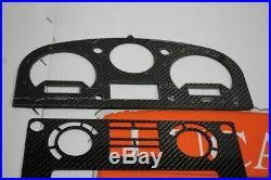 TDCI carbon fibre dash upgrade kit instrument dials Fits Land Rover Defender