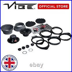 VIBE 6.5 VAUXHALL/OPEL Vivaro 90w Car Stereo Speaker Upgrade Fitting Kit