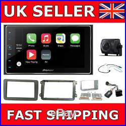 VW Double Din Stereo Screen Reverse Cam Pioneer Car Play Fitting Kit Upgrade
